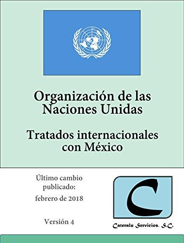 ONU - Tratados Internacionales con México