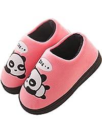 Gaatpot Donne Uomo Warm Cotone Pantofole Carine Panda Pantofole Ragazzi  Ragazze Interni Antiscivolo Pantofole Scarpe di 05bda7b440f