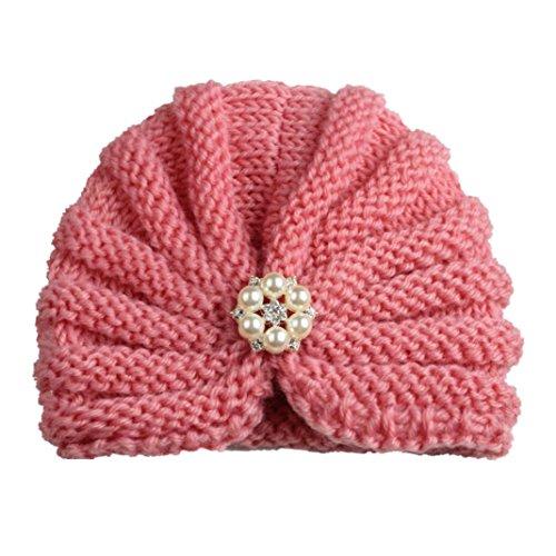 Xshuai Für 1-8 Jahre Indien Stil Baby Kind twist Wollmütze Headwear Härte Kappe Hut (Indienne D'halloween Kostüm)
