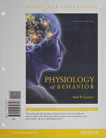 Physiology of Behavior, Books a la Carte Plus NEW MyPsychLab