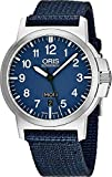 Oris Men's BC3 42mm Blue Nylon Band Automatic Watch 01 735 7641 4165-TSNVY
