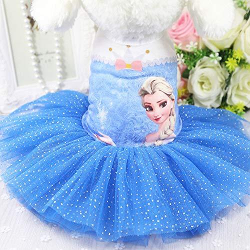 Hundebekleidung, EIS Romantik Hund Rock Katze Haustier Kleidung Kleid,Blue_M