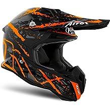 Airoh Helmet Terminator Open Vision Carnage, Naranja, tamaño S
