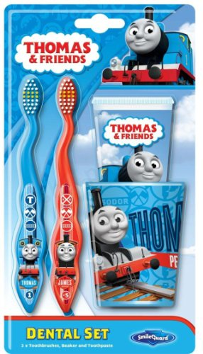 Price comparison product image Smileguard Thomas and Friends Toothbrush Starter Set