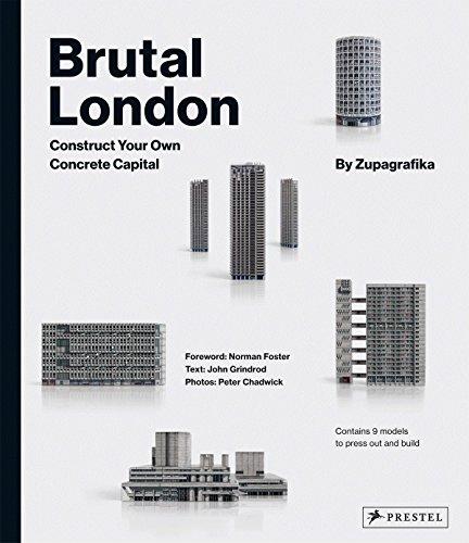 Brutal London: Construct Your Own Concrete Capital por Zupagrafika