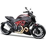 Maisto 1:18 Ducati Diavel Carbon Diecast Scale Model Bike - Black
