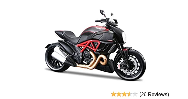 Buy Maisto 1 18 Ducati Diavel Carbon Diecast Scale Model Bike