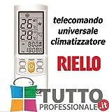 zijianZZJ Telecomando di Ricambio per condizionatore dAria a Bassa Potenza per Samsung ARH-403