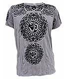 Yoga Shirts Camiseta Ganesha para Hombres Dios Hindú del Elefante Om T-Shirt