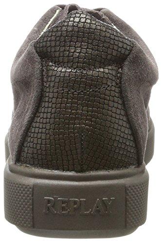 Replay Damen Albe Sneaker Braun (Dk Brn)
