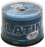 Platinum DVD+R 4,7 GB DVD-Rohlinge (16x Speed) 50er Spindel