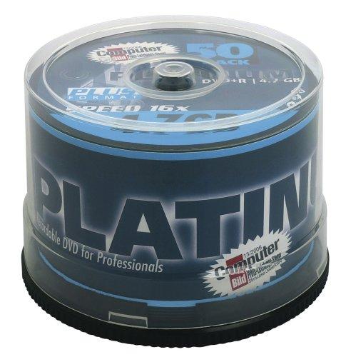 Platinum DVD+R 4,7 GB DVD-Rohlinge (16x Speed) 50er Spindel 120 Gb-dvd-cd