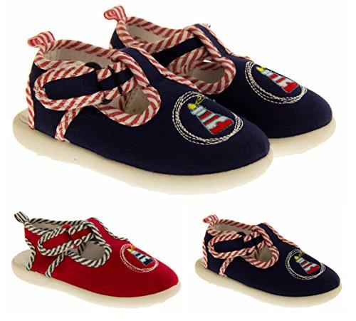De Fonseca Guardinano Chaussures de Toile de Plage Garçons