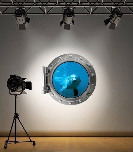 couleur-complete-dolphin-hublot-autocollant-mural-decoration-chambre-denfant-decoration-ocean-mer-me