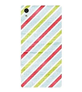 HiFi Designer Phone Back Case Cover Sony Xperia Z5 Compact :: Sony Xperia Z5 Mini ( Green Light Blue Maroon Colorful Pattern Design )