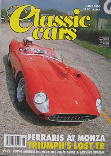 classic-cars-magazine-06-1990-featuring-ferrari-bizzarrini-gt-mg-ta-bugatti-volvo