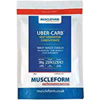 Muscleform UBER-CARB Waxy Maize Starch 2 x 2kg Resealable Pouch | Free Express Delivery