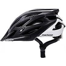 Meteor® Bicicleta Casco Marven: adultos unisex & juvenil para cascos casco para ciclistas Cilindro de deporte; para Hover Board, – Patines, BMX Bicicleta, Scooter. Diseñado para la seguridad de los usuarios más: El Casco tiene una variable de regulación del Circuito de cabeza, certificado – 89/686/EEC and en 1078 (L (58-61cm), Gris negro)