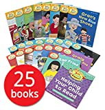 Read with Biff, Chip and Kipper Levels 4-6 - 25 Books (RRP £123.75)
