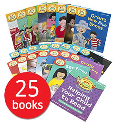 Price comparison product image Read with Biff, Chip and Kipper Levels 4-6 - 25 Books (RRP £123.75)