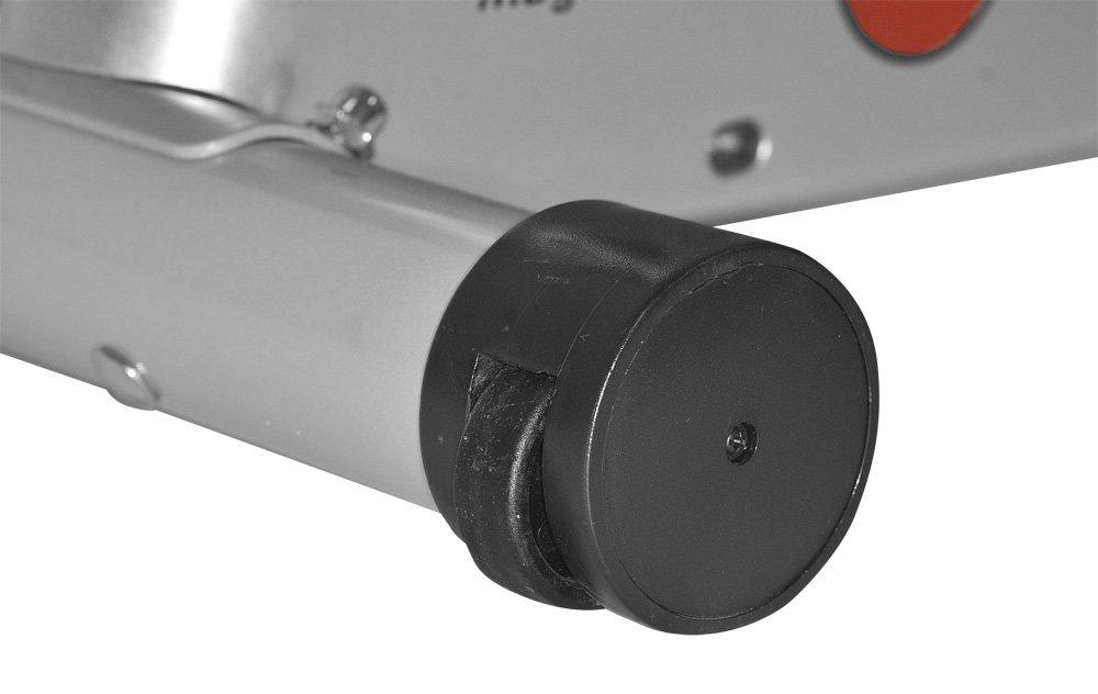 51aXnhqUCwL - Christopeit Sport Unisex's Lugano Rower, Silver/red/Black, Medium