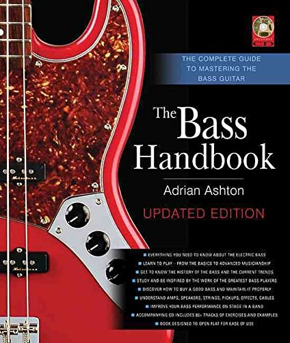 Portada del libro [(Bass Handbook : The Complete Guide to Mastering Bass Guitar)] [By (author) Adrian Ashton] published on (July, 2014)
