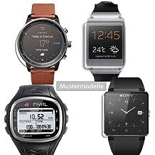 Maoni - Protector de pantalla mate para Magellan Switch Up Smartwatch (antirreflejos)