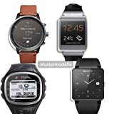 Maoni ANTIREFLEX (Anti-Fingerprint -seidenmatt) Display Schutz Folie Schutzfolien Suunto Core Alu Deep Black
