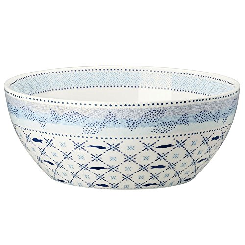 Hutschenreuther 02471-725720-15455 Lots of Dots Water Müslischale 15 cm, blau