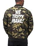 Photo de Certified Freak We Trippy Mane! Bomber Vest Camouflage M par Certified Freak