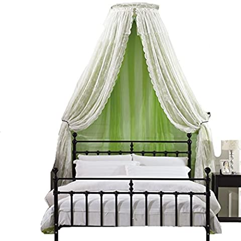 Mosquito Bed Lit 1.5m Bed 1.8m Lit Double Art Atmosphere Princesse Vent Europe Accueil Mosquito Mosquito Pest Control Dust Safe Nets ( couleur : A , taille : 2.0m Bed )