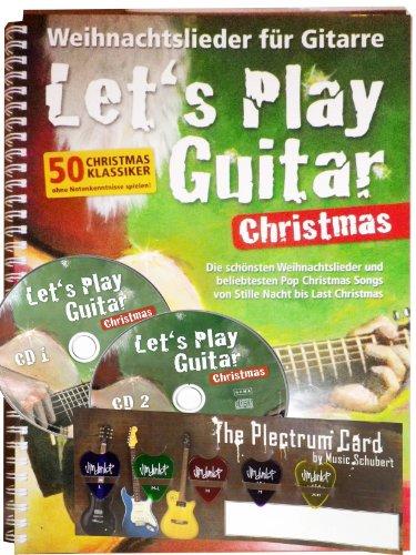 Weihnachtslieder für Gitarre: Let's Play Guitar Christmas (inkl. 2 CDs)