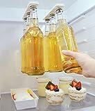 Magnético cerveza soporte/percha para 6botellas, botellas de ahorrar espacio y organizar a la nevera techo y redes–un gran regalo para cualquier persona que le gusta tomar cerveza fría–magenesis