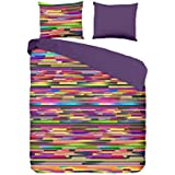 HIP  Juego De Funda Nórdica H Stripes Multicolor Cama 90 (140 x 200/220 cm) +1 (60 x 70 cm)