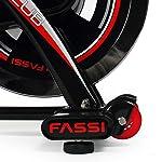 Fassi-Fit-Bike-R-26-con-Trasmissione-a-Cinghia-e-Fascia-Toracica-Inclusa