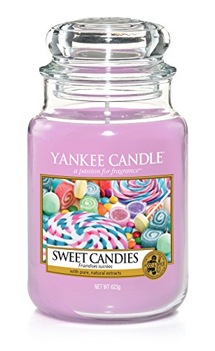 Yankee Candle Sweet Candies Large Jar, Purple, 10.7 x 10.7 x 16.8 cm
