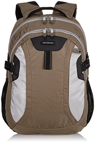 Samsonite Wanderpacks Laptop Backpack M Zaini Casual , 27 L, Marrone