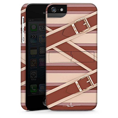 Apple iPhone X Silikon Hülle Case Schutzhülle Mode Leder Laschen Premium Case StandUp