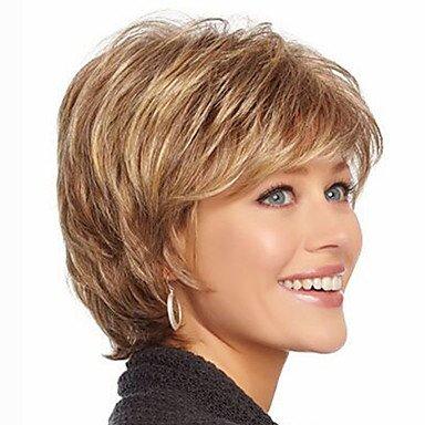HJL-capelli corti parrucche donne bianche europeo donne