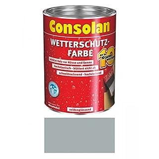 2,5 Liter Consolan Wetterschutzfarbe , grau Nr. 202