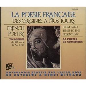 """Afficher """"Poésie francaise des origines à nos jours (La)"""""""