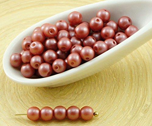 100pcs-pearl-shine-rosso-marrone-autunno-foglia-tonda-druk-premuto-ceca-perle-di-vetro-di-piccolo-di