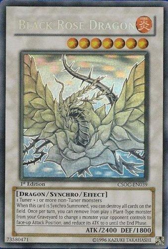 Yu-Gi-Oh! - Black Rose Dragon (CSOC-EN039) - Crossroads of Chaos - 1st Editio...