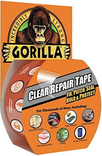Gorilla Tape 3044701 8.2m Repair Tape with Gloss Finish - Clear Test