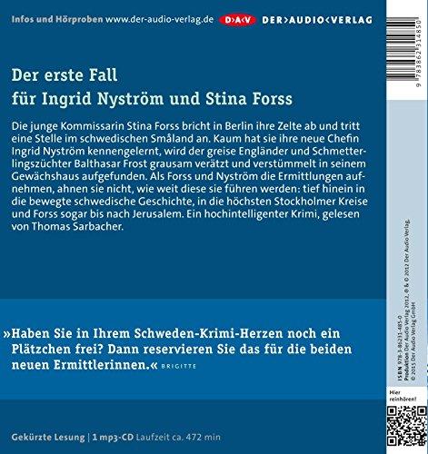 Später Frost (mp3-Ausgabe): Der erste Fall für Ingrid Nyström und Stina Forss (1 mp3-CD): Alle Infos bei Amazon