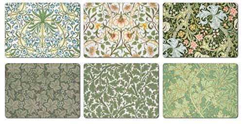 William Morris - Manteles Individuales 6 Unidades