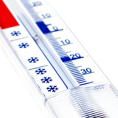 Lantelme analoges Stab- Gefrierschrank- Thermometer 2er Set - 3