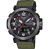 Casio PRW-6600YB-3ER Grün Harz Mann Uhr