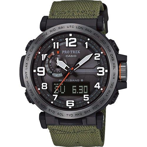 8e0abee7e61a Casio PRW-6600YB-3ER GREEN RESIN Man Watch