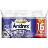 Andrex Superbe Comfort Quilts Blanc tissus Rolls - 160 feuilles par rouleau (16) -